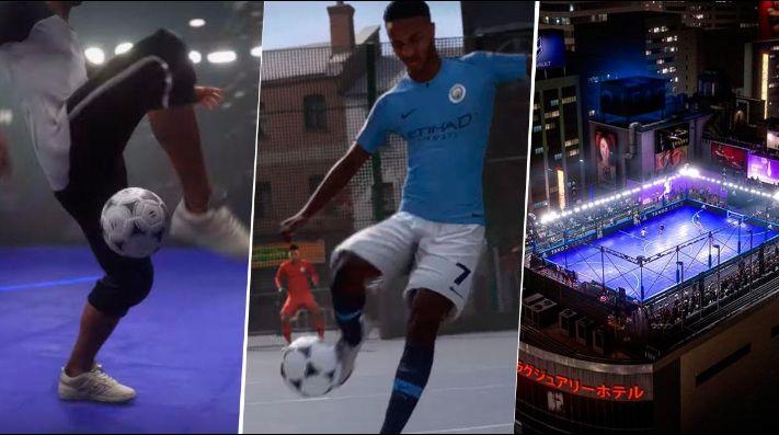 Te vas a poner loco: ya salió el trailer del FIFA Street