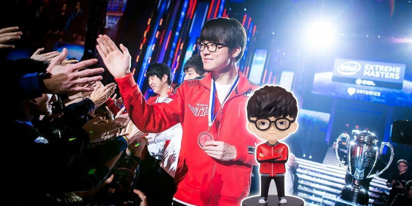 League of Legends: ¡Faker ya tiene su figura coleccionable!