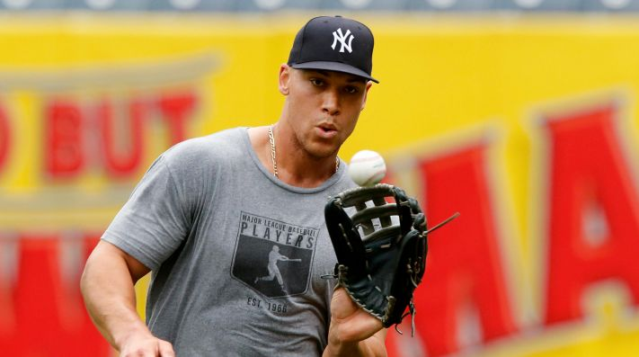 Aaron Judge ya entrena y su regreso con los Yankees es inminente