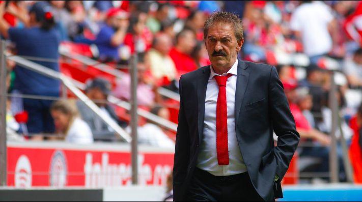 Ricardo La Volpe, director técnico de Toluca.