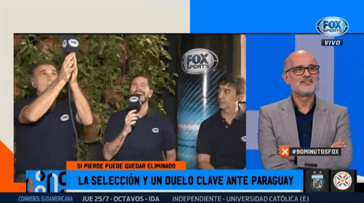 Te hablan, Chilavert: Ruggeri recordó cuando ganó la Copa del Mundo y tiró