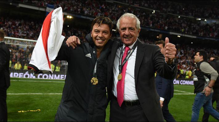 Apareció D'Onofrio: el presidente de River habló sobre Gallardo y la Selección Argentina