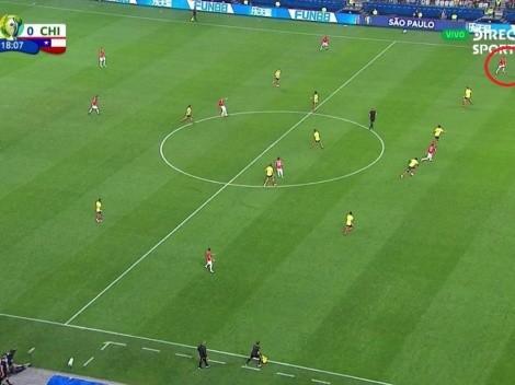 Todo Chile festejó el gol de Aránguiz pero el VAR lo anuló por posición adelantada