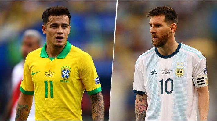 Resultado de imagen para semifinal argentina brasil