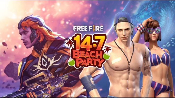 Resultado de imagen para fiesta en la playa free fire