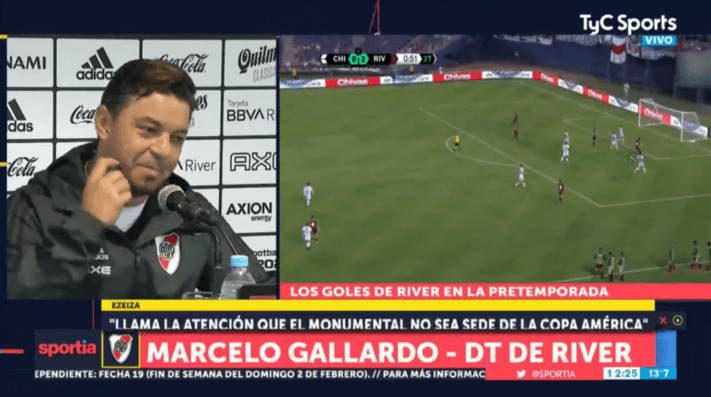 Escuchá, Boca: Gallardo no se animó a tirar un chiste, pero aseguró que