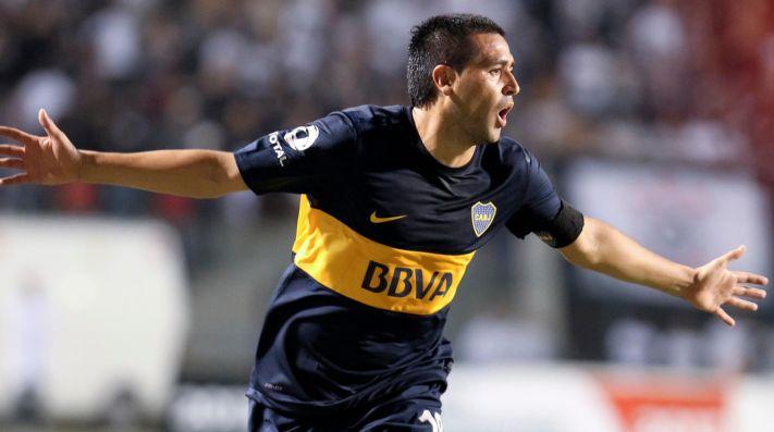 Juan Román Riquelme, máximo ídolo de Boca Juniors.