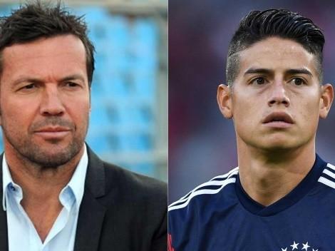 Tras dos años de fuertes críticas, Lothar Matthäus ahora elogia a James Rodríguez
