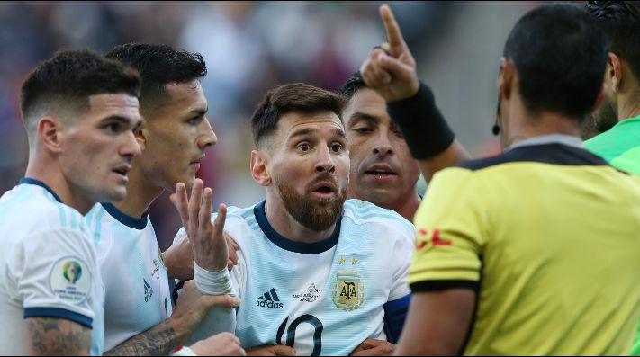La posible sanción a Messi constaría de una multa económica y varias fechas de suspensión
