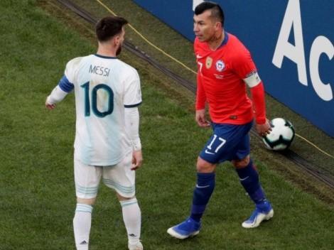 Ahora llegó la sanción de Conmebol para Gary Medel por su pelea con Messi