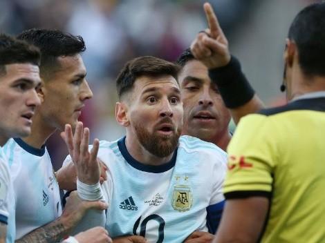 Oficial: la sanción de Conmebol a Messi por sus declaraciones