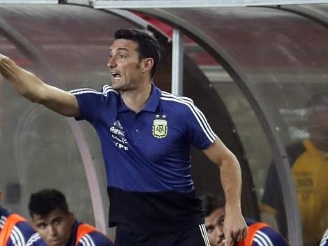 """Jugó la Copa América: """"Me quedé con ganas de tener más minutos y lo hablé con Scaloni"""""""
