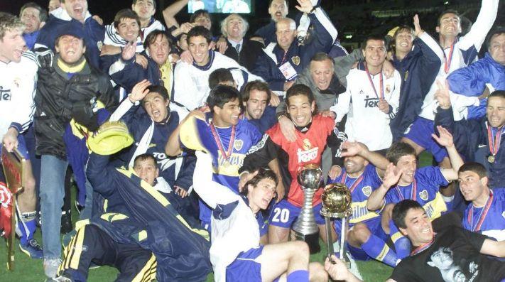 Boca Juniors, campeón del mundo en Japón, en 2000.