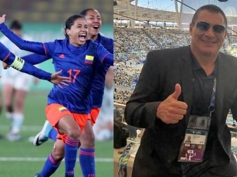 """Mondragón bautizó a vicepresidenta de Colombia como """"madrina"""" de selección femenina"""