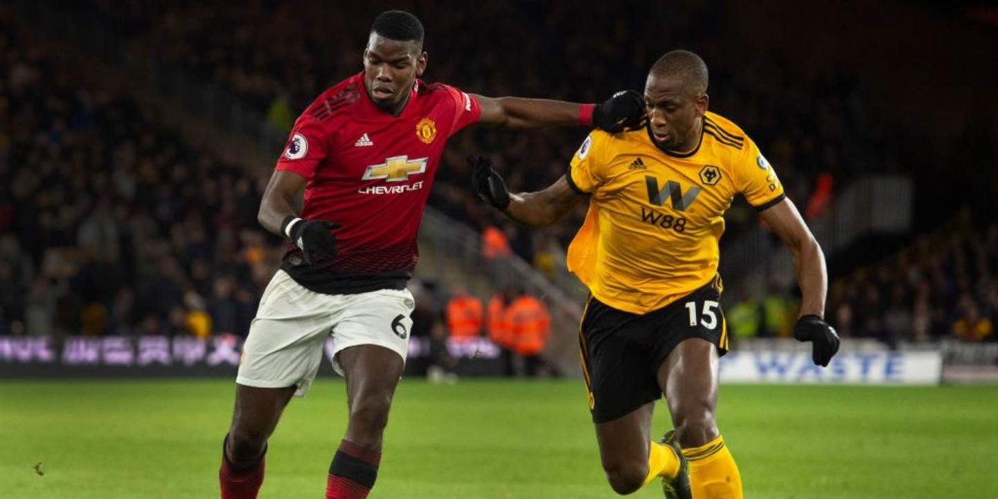 Wolves vs. Manchester United por la Premier League.