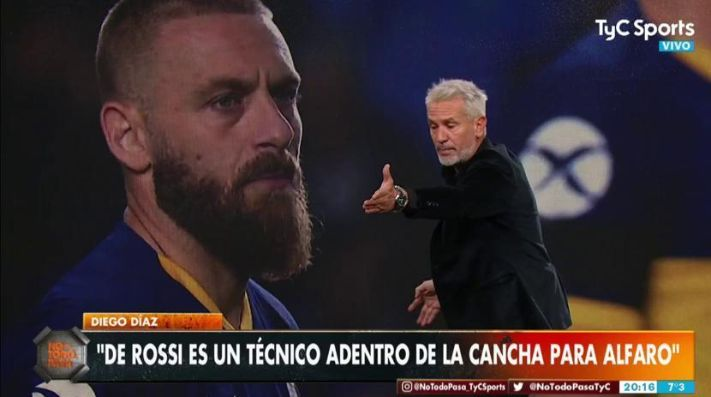 Polémica declaración de Diego Díaz.