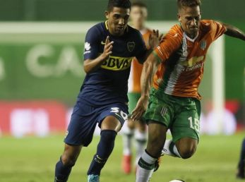 Banfield vs. Boca por la Superliga.