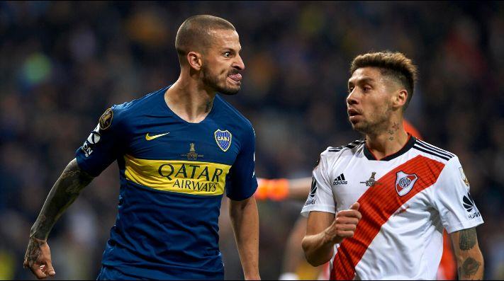 Benedetto aclaró qué pasó en la final de la Copa Libertadores con Montiel