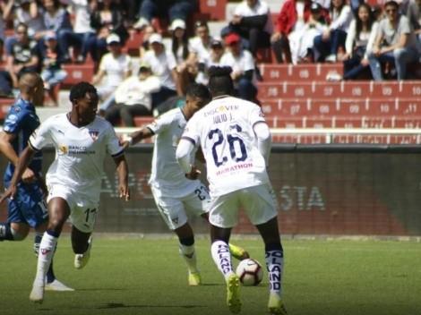 Día y horario Técnico Universitario vs. Liga de Quito