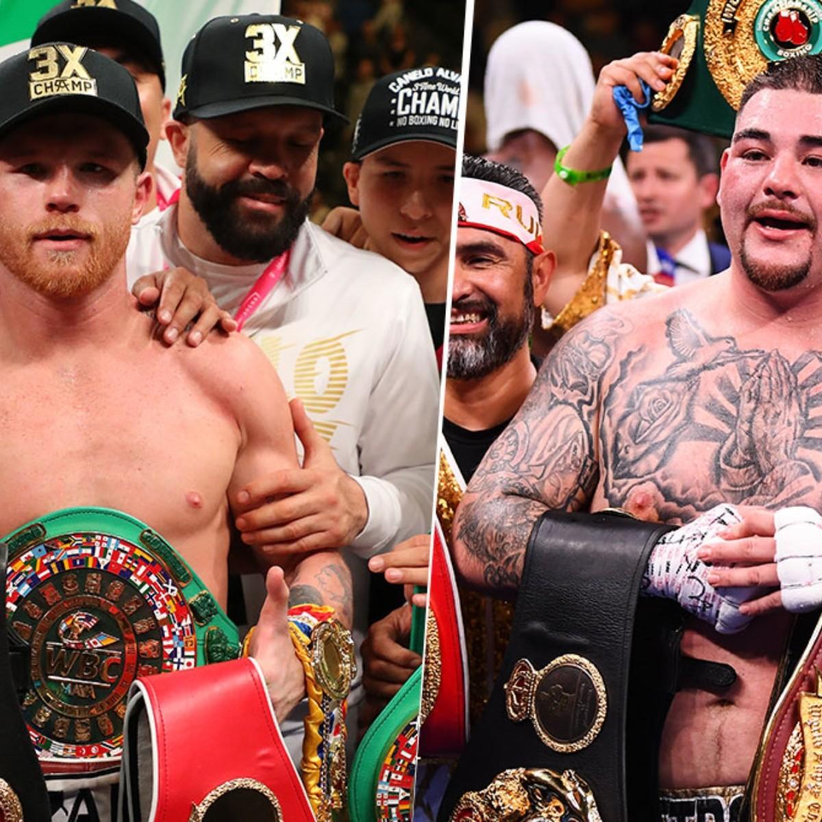 De campeón a campeón: Canelo Álvarez elogió a Andy Ruiz | Bolavip