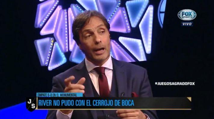 Gustavo López no tuvo pelos en la lengua.