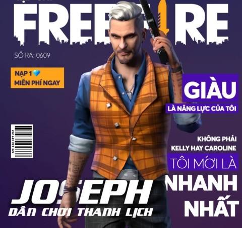 Free Fire Recibe A Joseph Su Nuevo Personaje Y Un Arma