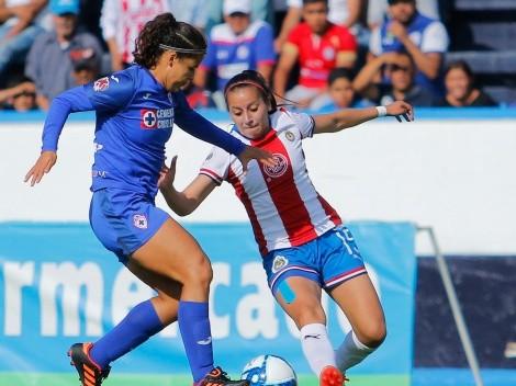 Cruz Azul y Chivas igualaron en un partido lleno de goles