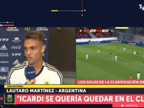Humildad pura: Lautaro Martínez habló sobre su nivel con Argentina en la Copa América