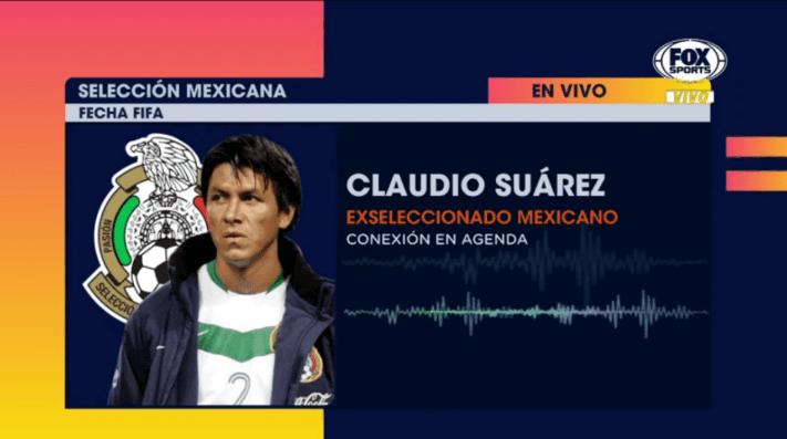 Claudio Su U00e1rez Pidi U00f3 Que M U00e9xico Regrese A La Copa