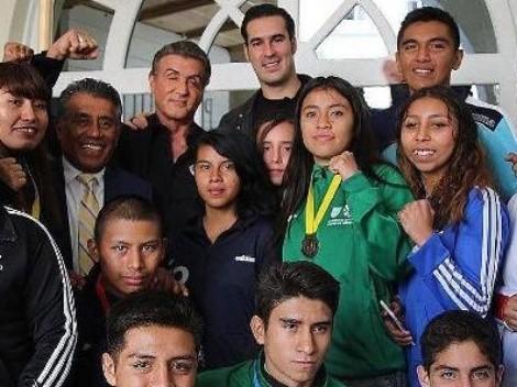 'Rocky Balboa' motivó a la selección mexicana de boxeo