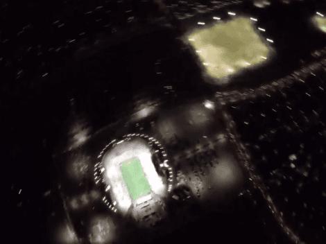 ¡Insólito! En Las Vegas vieron ovnis en la final entre Cruz Azul y Tigres... pero era parte del show