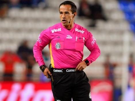 Jorge Isaac Rojas será el silbante de Cruz Azul vs Monterrey