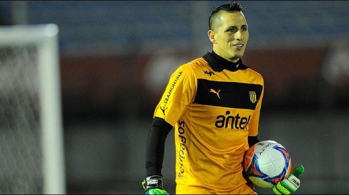 Pablo Migliore en su paso por Peñarol.