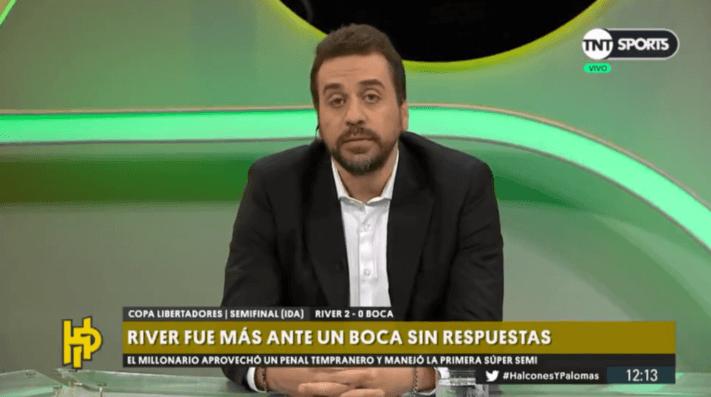 Nicolás Distasio aseguró que Boca jugó