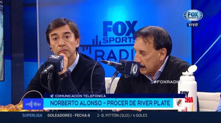 Norberto Alonso en 'Fox Sports Radio'.
