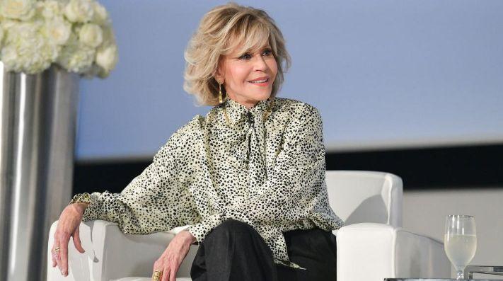 Jane Fonda fue detenida frente al Capitolio de Estados Unidos.