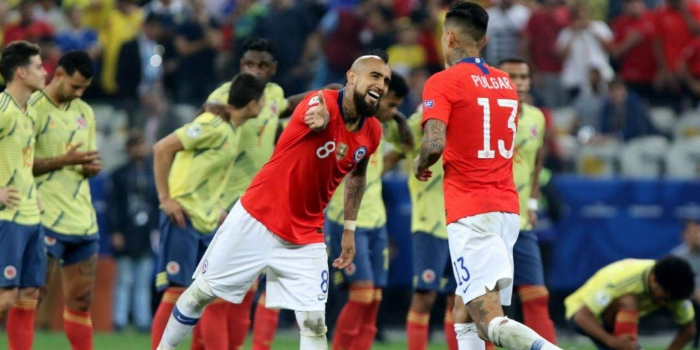 VER EN VIVO: Colombia vs. Chile por un amistoso