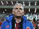 Denuncian a Queiroz por supuestamente haber hecho negocio con el amistoso contra Argelia