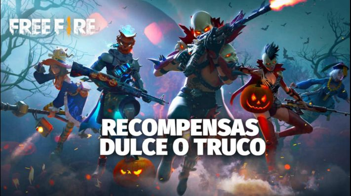 Todas las recompensas del evento de Halloween de Free Fire