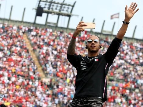 Hamilton se recuperó y se quedó con el Gran Premio de México