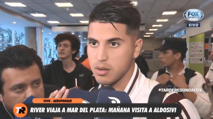 Exequiel Palacios avisa para qué está River: