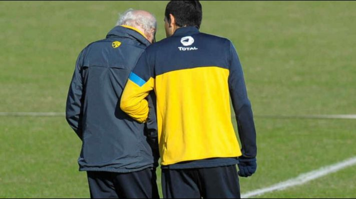 Riquelme se volvió loco hablando de Bianchi: