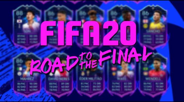 FIFA 20 lanza los RTTF para Champions League y Europa League del FUT
