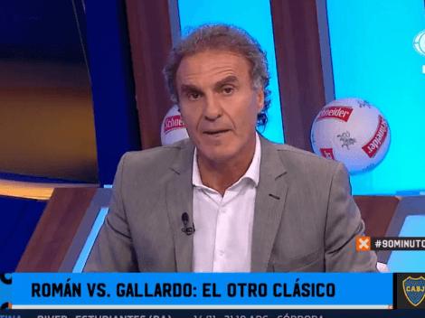 """Ruggeri le avisó a Riquelme: """"Passarella se fue a la B"""""""