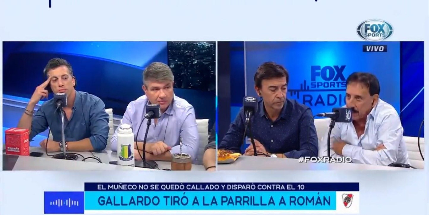 Roberto Leto en Fox Sports Radio.