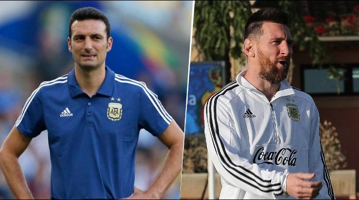 Scaloni, sobre Messi: