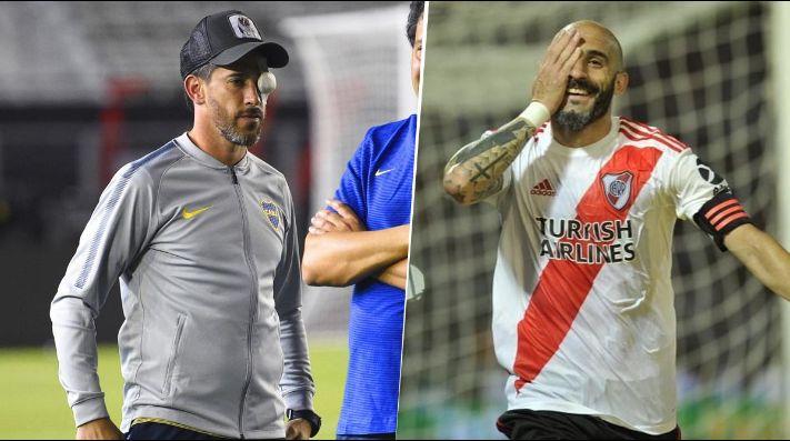 Explotó Twitter: hinchas de River aseguran que Pinola le dedicó su gol a Pablo Pérez