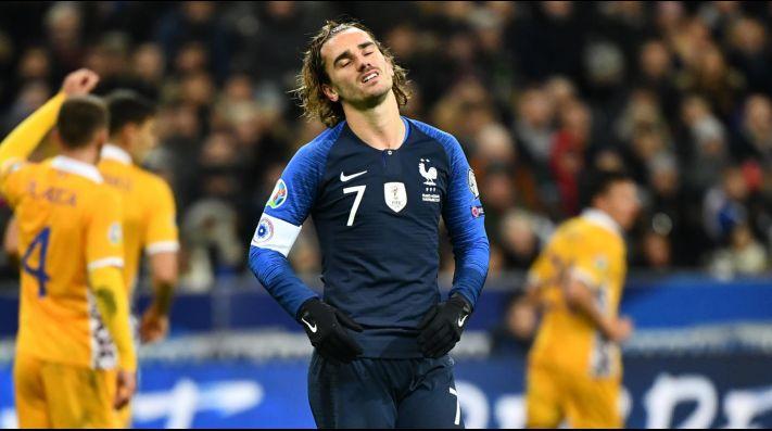 Griezmann se aflojó con Francia: