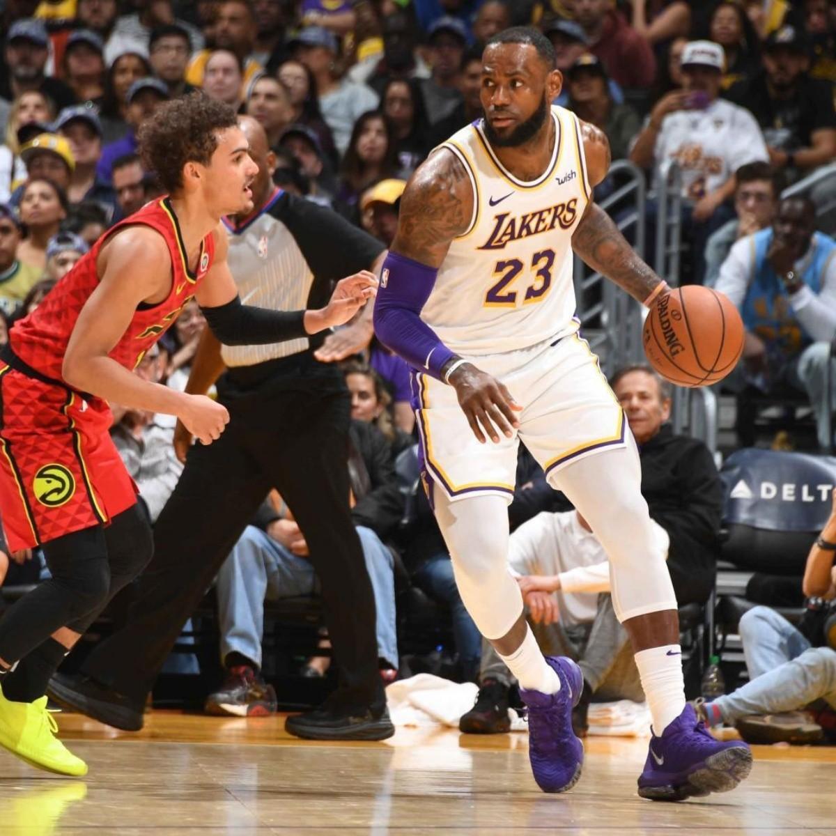 Que Canal Transmite Atlanta Hawks Vs Los Angeles Lakers Por