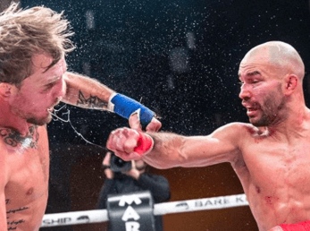 Artem Lobov cae en su revancha ante Jason Knight en Bare Knuckle FC